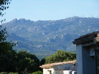 Panorama sul Monte Limbara